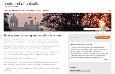 http://confusedofcalcutta.com/2011/04/12/musing-about-sharing-and-social-in-business/