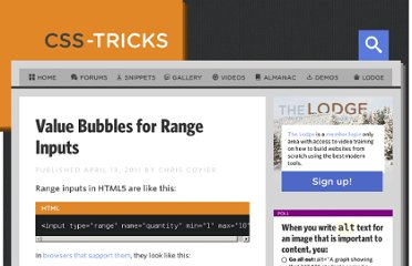 http://css-tricks.com/value-bubbles-for-range-inputs/