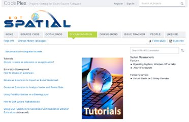 http://dotspatial.codeplex.com/wikipage?title=DotSpatial%20Tutorials&referringTitle=Documentation