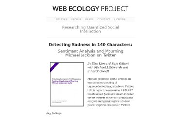 http://www.webecologyproject.org/2009/08/detecting-sadness-in-140-characters/