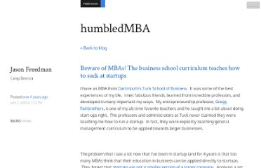 http://www.humbledmba.com/beware-of-mbas-the-business-school-curriculum