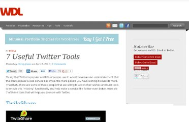 http://webdesignledger.com/tools/7-useful-twitter-tools