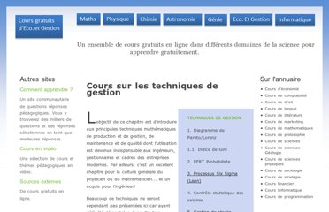 http://gestion.coursgratuits.net/technique-de-gestion/index.php