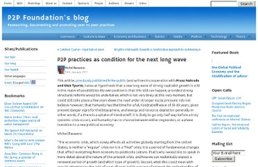 http://blog.p2pfoundation.net/p2p-practices-as-condition-for-the-next-long-wave/2011/01/14
