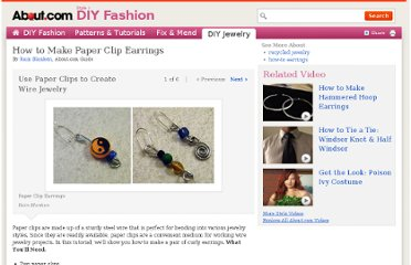 http://diyfashion.about.com/od/diyjewelrymaking/ss/Paper_Clip_Earrings.htm