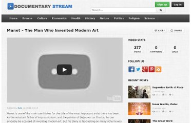 http://www.documentarystream.com/manet-the-man-who-invented-modern-art/