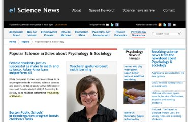 http://esciencenews.com/topics/psychology.sociology