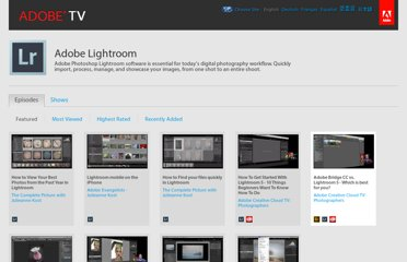 http://tv.adobe.com/product/lightroom/