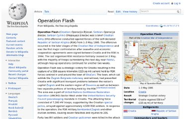 http://en.wikipedia.org/wiki/Operation_Flash