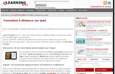 http://www.elearning-actu.org/ipad_et_e-learning/