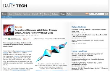 http://www.dailytech.com/Scientists+Discover+Wild+Solar+Energy+Effect+Allows+Power+Without+Cells/article21388.htm
