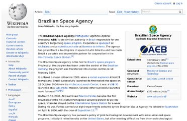 http://en.wikipedia.org/wiki/Brazilian_Space_Agency