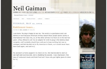 http://journal.neilgaiman.com/2009/05/entitlement-issues.html