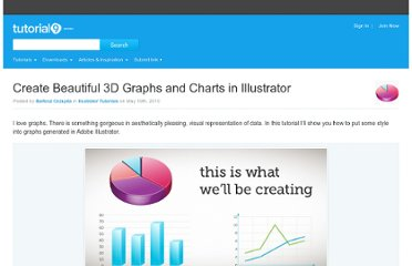 http://www.tutorial9.net/tutorials/illustrator-tutorials/create-beautiful-3d-graphs-and-charts-in-illustrator/