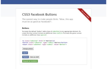 http://nicolasgallagher.com/lab/css3-facebook-buttons/