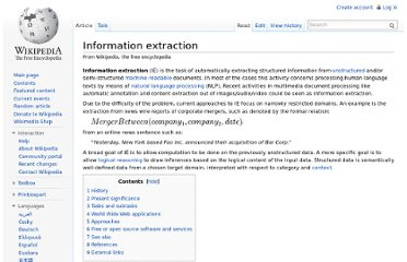 http://en.wikipedia.org/wiki/Information_extraction