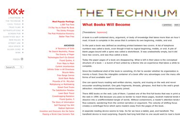 http://www.kk.org/thetechnium/archives/2011/04/what_books_will.php