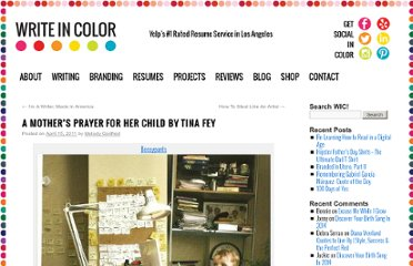 http://melodygodfred.com/2011/04/15/a-mothers-prayer-for-its-child-by-tina-fey/