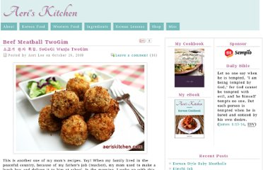 http://aeriskitchen.com/2008/10/korean-meat-balls/