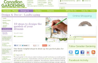 http://www.canadiangardening.com/design-and-decor/landscaping/10-steps-to-design-the-garden-of-your-dreams/a/29462