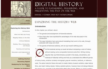 http://chnm.gmu.edu/digitalhistory/exploring/index.php