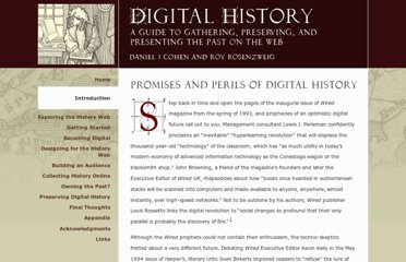 http://chnm.gmu.edu/digitalhistory/introduction/