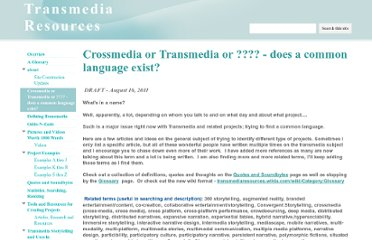 http://sites.google.com/site/transmediaresources/cross-media-or-transmedia