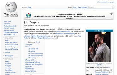 http://en.wikipedia.org/wiki/Joe_Rogan