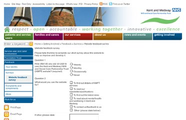 http://www.kmpt.nhs.uk/website-feedback-survey.htm
