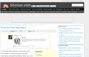 http://shailan.com/wordpress/plugins/facebook-meta-tags-plugin/