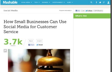 http://mashable.com/2011/04/17/social-media-customer-service/