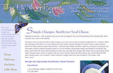 http://healingfeast.com/simple_changes.cfm