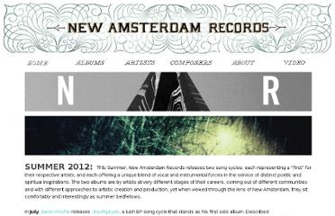 https://www.newamsterdamrecords.com/#Home