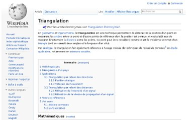 http://fr.wikipedia.org/wiki/Triangulation