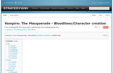 http://strategywiki.org/wiki/Vampire:_The_Masquerade_-_Bloodlines/Character_creation#Malkavian