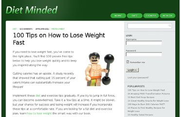 http://www.dietminded.com/100-tips-on-how-to-lose-weight-fast/