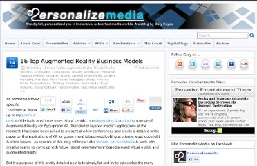 http://www.personalizemedia.com/16-top-augmented-reality-business-models/