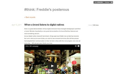 http://lefreddie.posterous.com/when-a-brand-listens-to-digital-natives