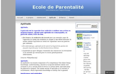 http://parentalacademic.wordpress.com/aptitude/