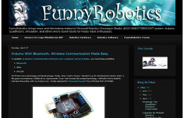 http://www.funnyrobotics.com/2011/04/arduino-with-bluetooth-wireless.html