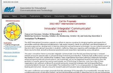 http://www.aect.org/events/call/default.asp?clientid=