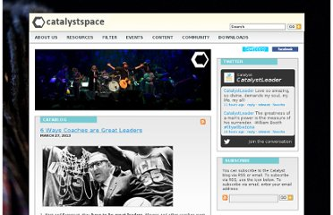 http://www.catalystspace.com/catablog