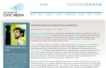 http://civic.mit.edu/blog/mako/wikinews-and-multiperspectival-reporting