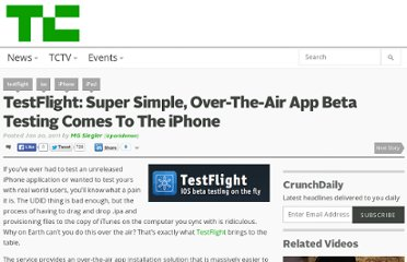 http://techcrunch.com/2011/01/20/testflight/