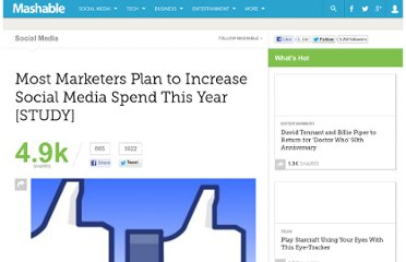 http://mashable.com/2011/04/19/marketers-social-media-spend/