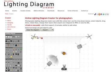 http://www.lightingdiagrams.com/Creator