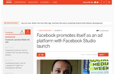 http://thenextweb.com/facebook/2011/04/19/facebook-promotes-itself-as-an-ad-platform-with-facebook-studio-launch/