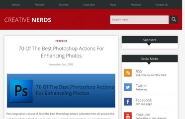 http://creativenerds.co.uk/freebies/70-of-the-best-photoshop-actions-for-enhancing-photos/