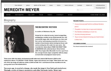 http://www.meredithmeyer.com/biography/