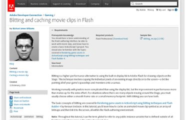 http://www.adobe.com/devnet/flash/articles/blitting_mc.html